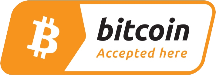 Bitcoin Accepted Logo