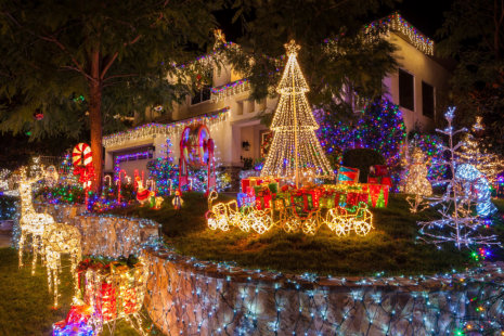 Can You Leave Your Christmas Lights on Overnight?
